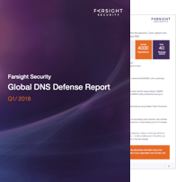 Farsight Security Global DNS Defense Report