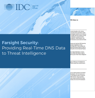 Farsight Security: Providing Real-Time DNS Data to Threat Intelligence