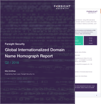 Global Internationalized Domain Name Homograph Report
