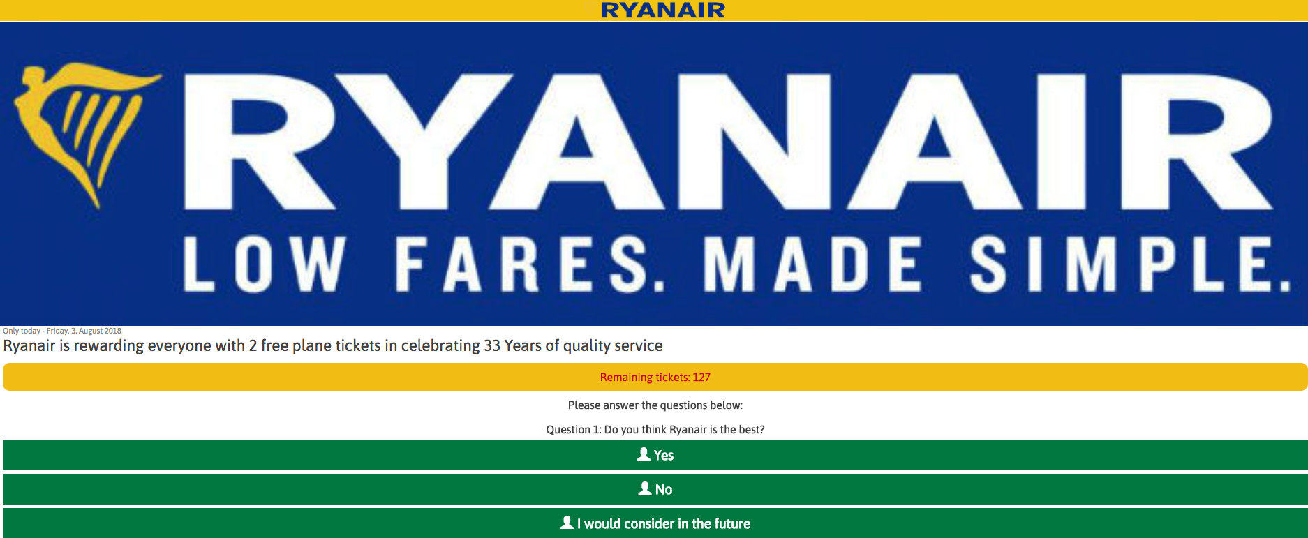 ryanair phish screencap